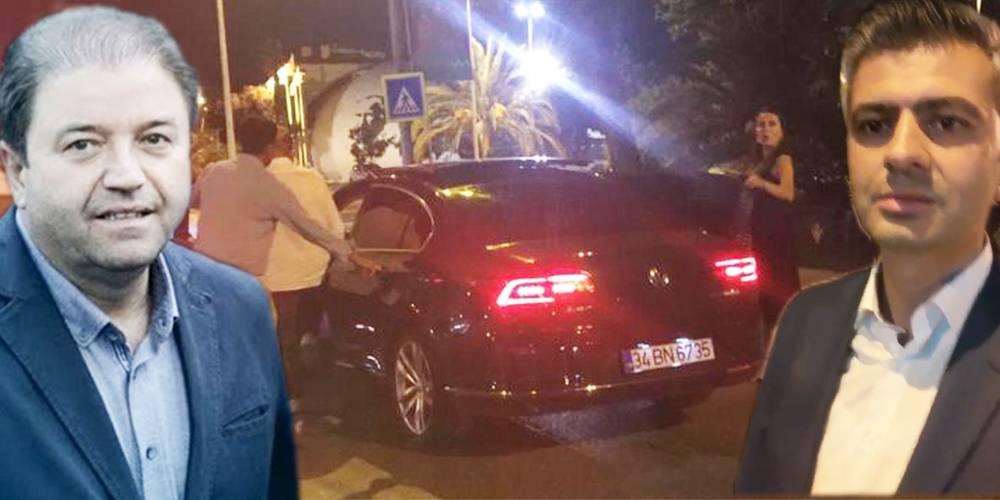 Maltepe Belediye Başkanı Ali Kılıç alkollüyken bir araca çarparak kaçtı!