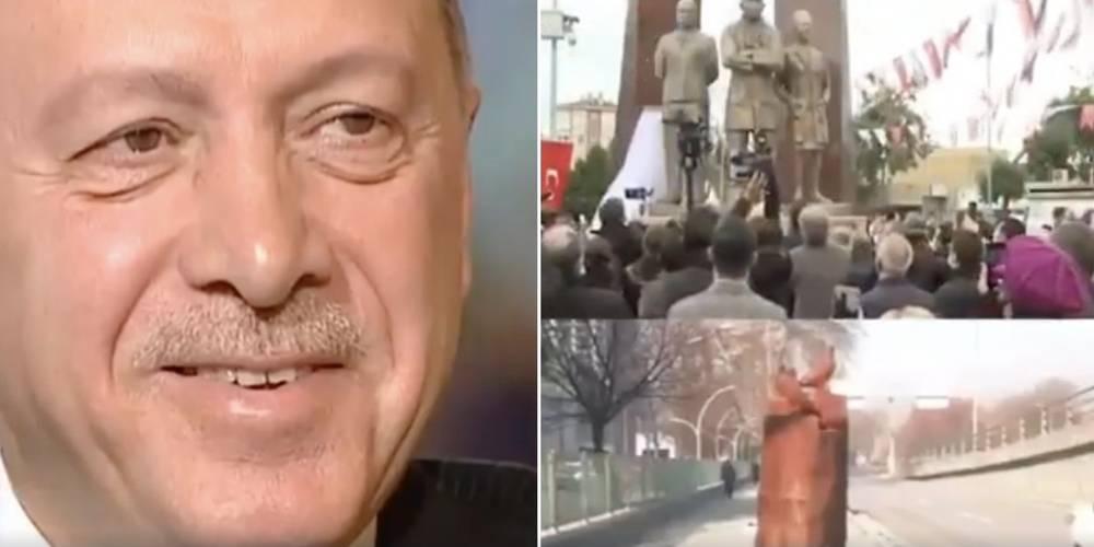 AK Parti'den heykel göndermeli 1 Nisan şakası