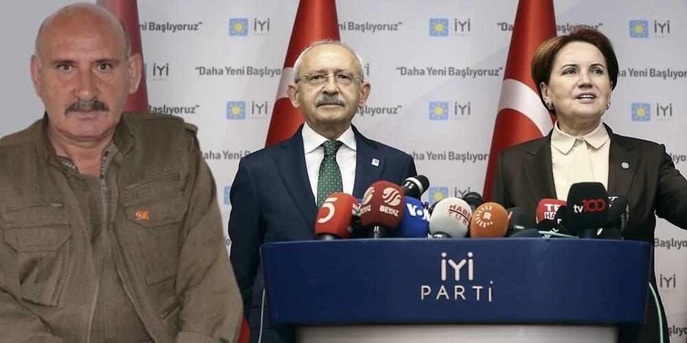 """Terörist Sabri Ok'tan CHP ve İYİ Parti'ye çağrı: """"Bu partiler gerçekten bir değişim istiyorlarsa HDP ile ittifak yapmak dışında çareleri yoktur"""""""
