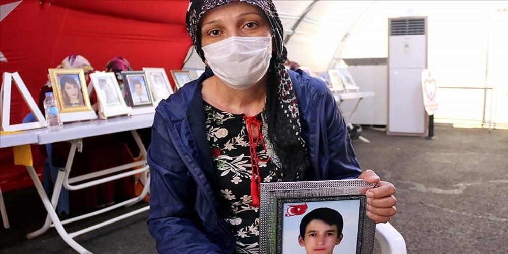 Diyarbakır annelerinden Nihal Çiftçi: Oğlumu almadan buradan gitmeyeceğim