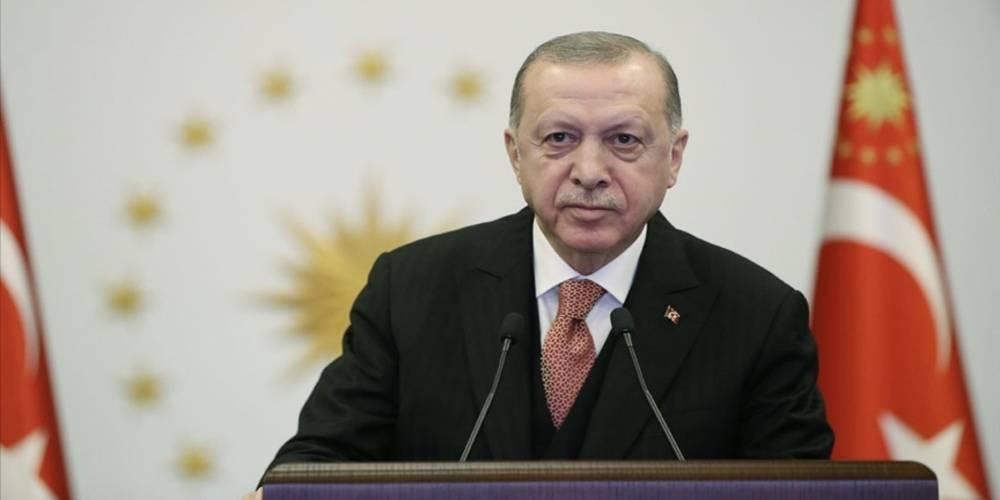 """Cumhurbaşkanı Erdoğan: """"Sıfır Atık Projesi ile atıkların geri kazanım oranını 2035'te yüzde 60'a taşıyacağız"""""""
