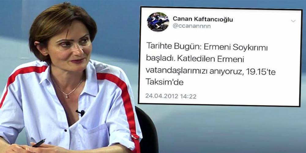 CHP Biden'i kınıyor ama Canan Kaftancıoğlu suspus