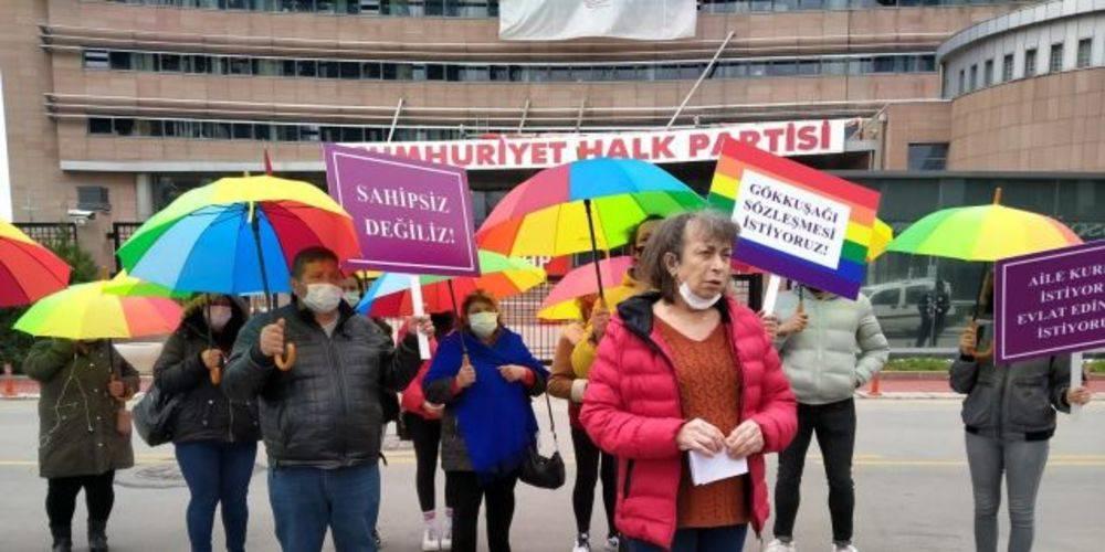 CHP Genel Başkanı Kemal Kılıçdaroğlu fahri LGBT üyesi yapıldı