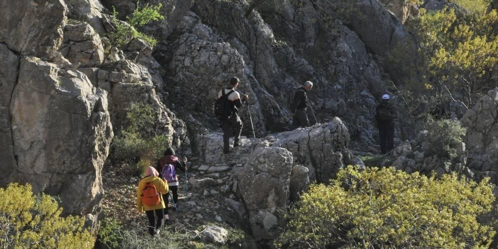 Terör örgütü PKK'dan temizlenen Gabar Dağı, doğaseverlerin trekking merkezi oldu