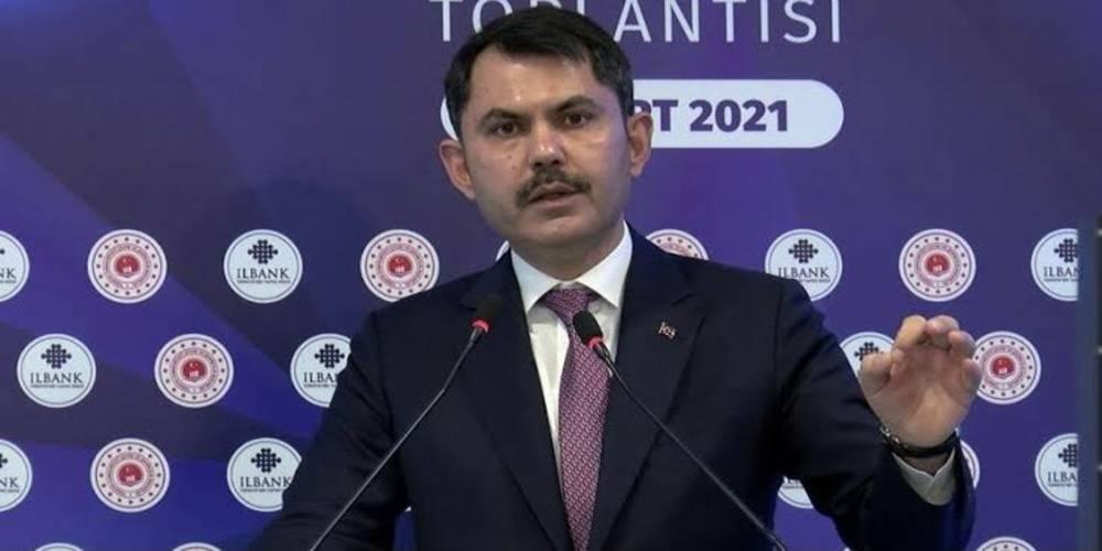 Çevre ve Şehircilik Bakanı Murat Kurum: Kanal İstanbul'u yapacağız. Şimdi her zamankinden daha çok inanıyoruz