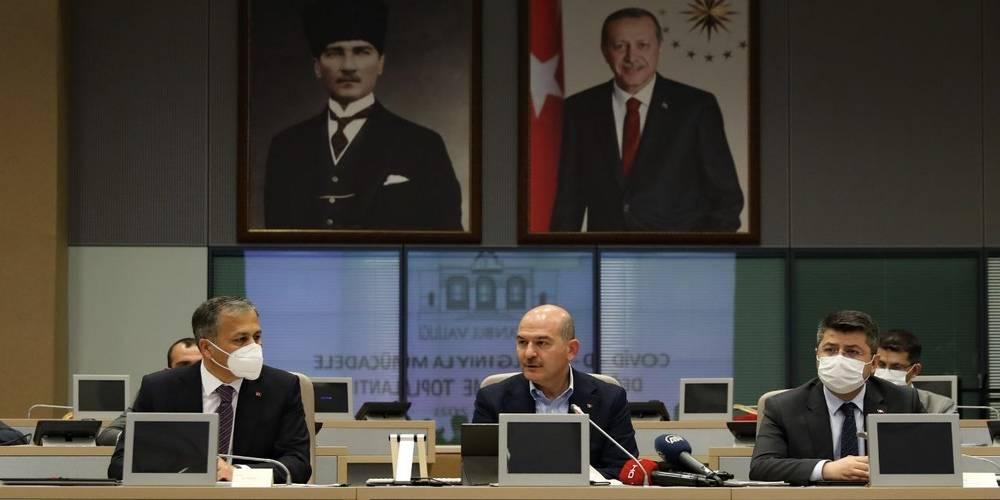 """İçişleri Bakanı Süleyman Soylu'dan kısıtlama çağrısı: """"Kesinlikle müsaade etmeyin"""""""
