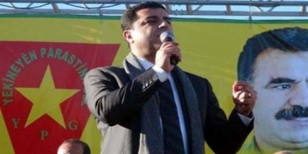"""Yargıtay, teröristlere """"şehit"""" diyen Selahattin Demirtaş'a verilen cezayı onadı!"""
