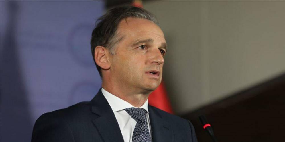 Almanya Dışişleri Bakanı Maas: Doğu Akdeniz'de diplomatik çözüm acil hedefimiz