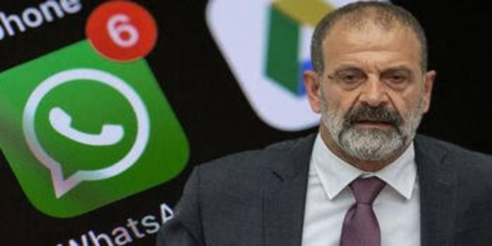 Tecavüzcü HDP'li Vekil Tuma Çelik'in WhatsApp mesajları ortaya çıktı