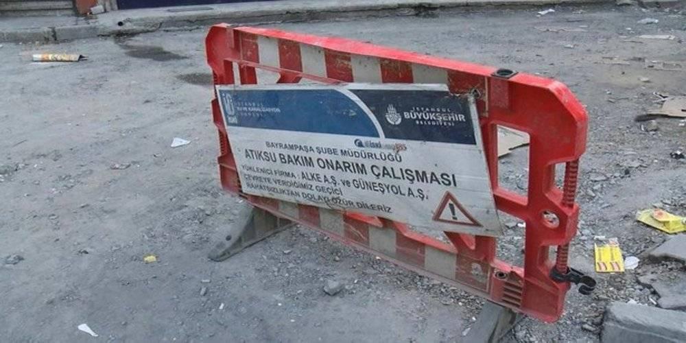 Esenler'de İSKİ rezaleti! Maaşları ödenmeyen işçiler işi bıraktı