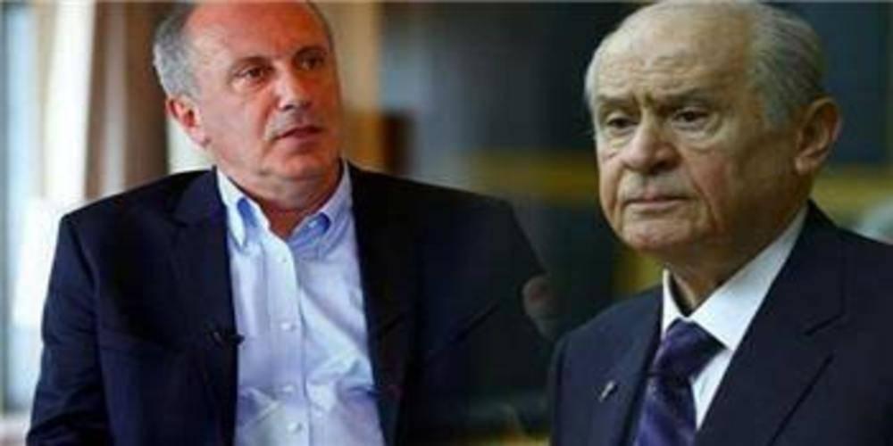 MHP Genel Başkanı Devlet Bahçeli'den Muharrem İnce açıklaması: CHP'nin kanına dokunuyor
