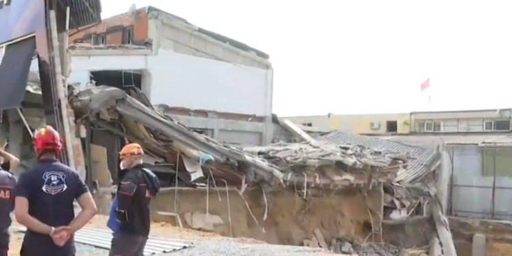 İstanbul İkitelli'deki Masko Sanayi Sitesi'nde çöken binayla ilgili İstanbul Valiliği'nden açıklama!