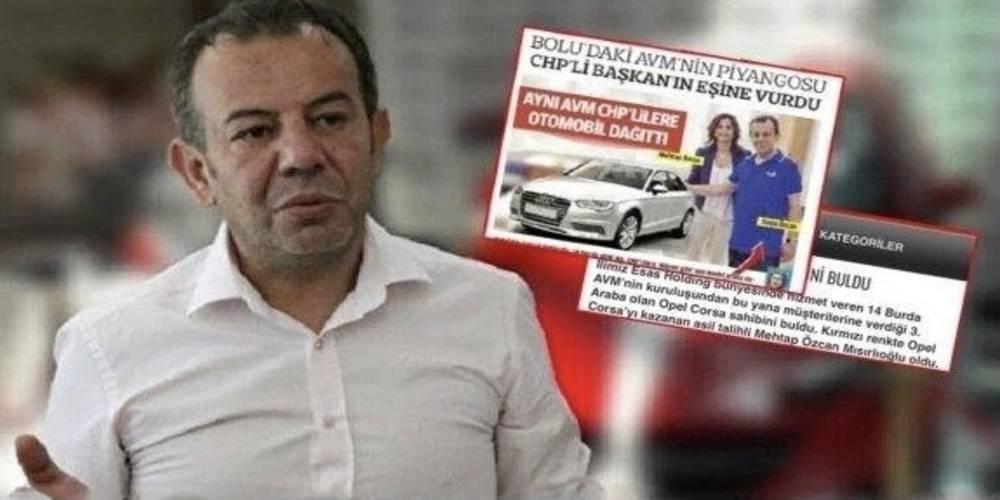 Tanju Özcan'nın eşine çekiliş kıyağı: Aynı AVM'den 2 kez araba kazandılar