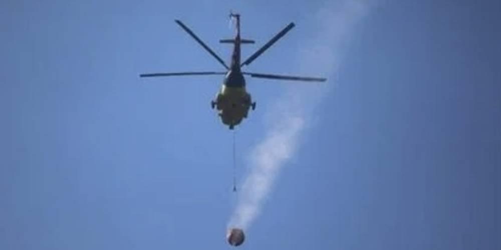 Orman Genel Müdürlüğü: Söndürme helikopterinin düştüğü haberleri asılsızdır