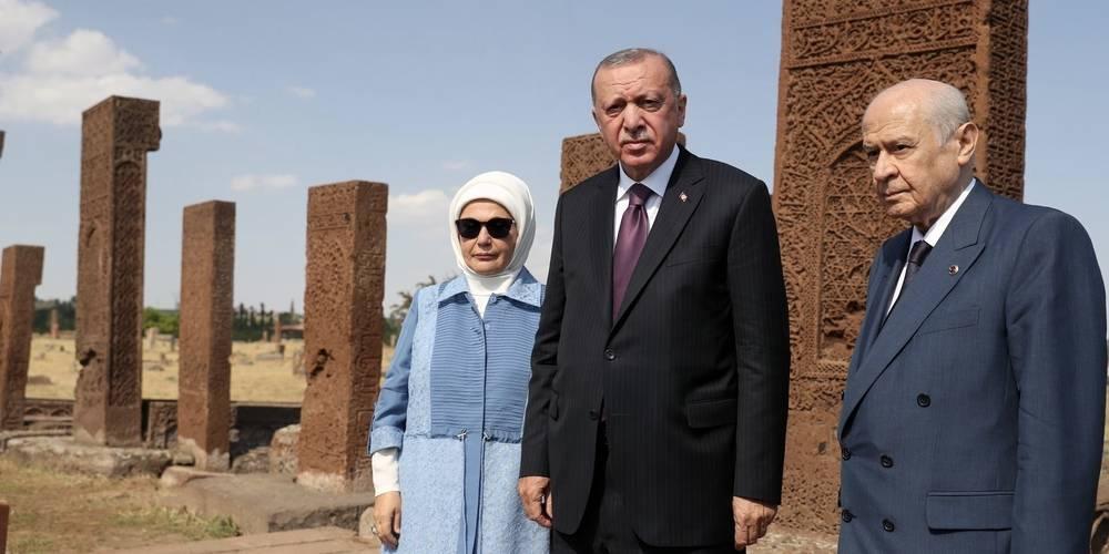"""Cumhurbaşkanı Erdoğan: """"2053 ve 2071 vizyonlarıyla, Türkiye'yi her bakımdan dünyanın en güçlü ülkeleri arasında ilk sıralara yerleştirme görevini miras bırakıyoruz."""""""