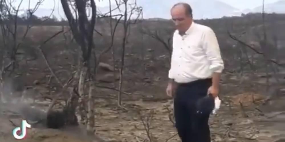 """Yangın mağduru vatandaştan Muharrem İnce'ye tepki: """"fotoğraf çekilmekle olmaz bu iş"""""""