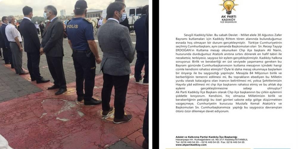 AK Parti'den CHP'ye 30 Ağustos kınaması