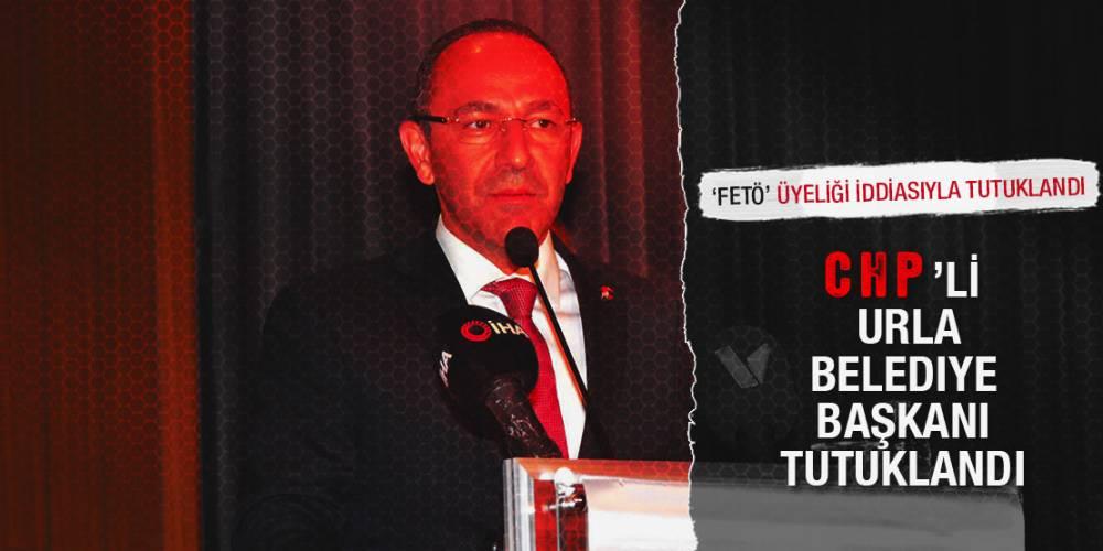CHP'li Urla Belediye Başkanı İbrahim Oğuz, 'FETÖ' üyeliği iddiasıyla tutuklandı