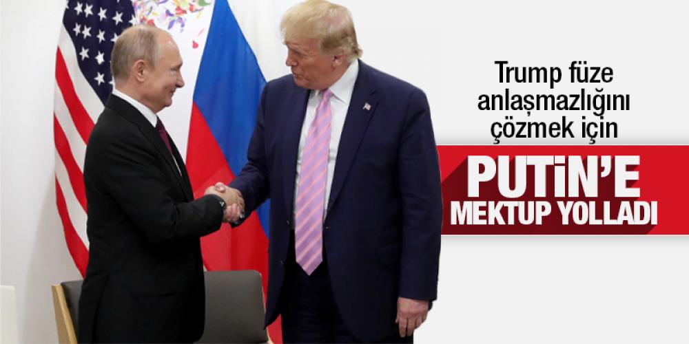 Trump füze anlaşmazlığını çözmek için Putin'e mektup yolladı