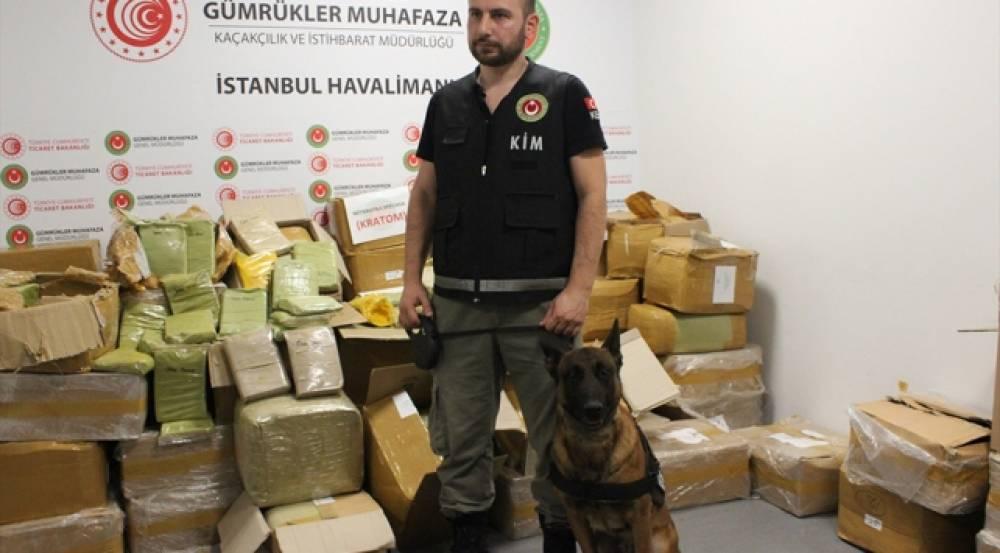 İstanbul Havalimanı'nda Rekor Uyuşturucu: 1,7 Ton Ele Geçirildi