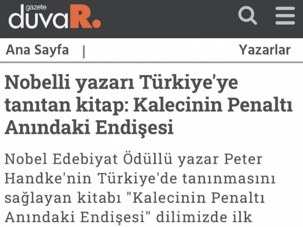 Gazete Duvar Soykırımcı Yazara Destek Çıktı