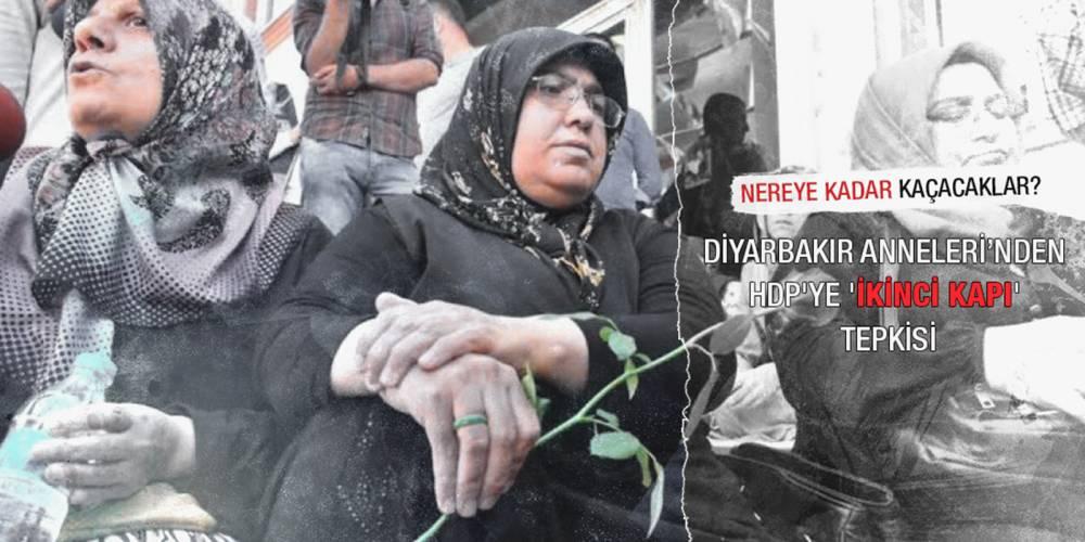 'Diyarbakır anneleri'nden HDP'ye 'ikinci kapı' tepkisi