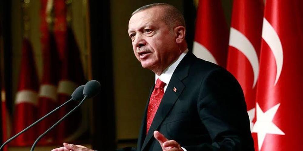 """Cumhurbaşkanı Erdoğan: """"Yargının işine müdahale etmek benim haddime değil ama Selahattin Demirtaş gibi teröristin, varsa, sözde hakkını koruyacak değiliz."""""""
