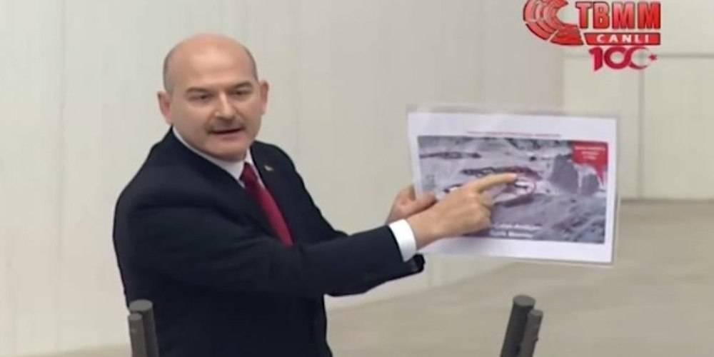 """İçişleri Bakanı Süleyman Soylu: """"Elinde kocaman bıçak vardı, 'kendimi patlatacağım' diye bağırdı"""""""