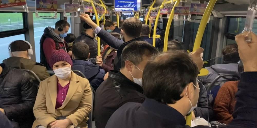 Metrobüsler tıklım tıklım... İstanbul'da ölüm sayıları neden düşmüyor acaba?