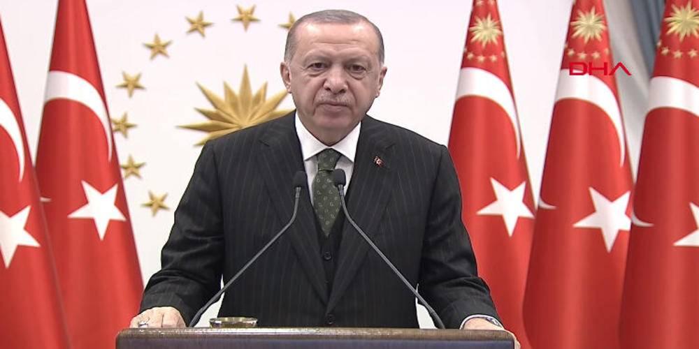 """Cumhurbaşkanı Erdoğan: """"(ABD'nin yaptırım kararı) Bu karar, ülkemizin egemenlik haklarına yönelik aleni bir saldırıdır."""""""
