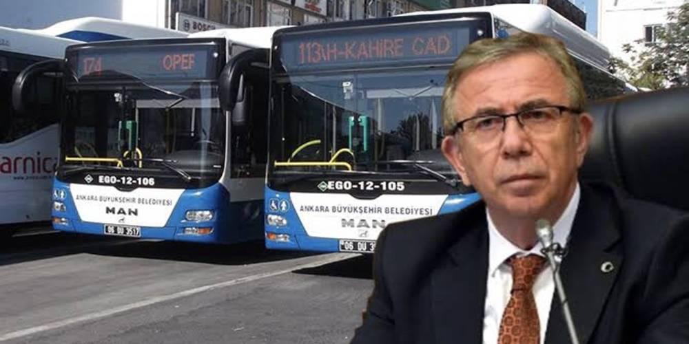 Ekrem İmamoğlu'ndan sonra Ankara Büyükşehir Belediye Başkanı Mansur Yavaş da belediyeyi Avrupa'ya borçlandırdı