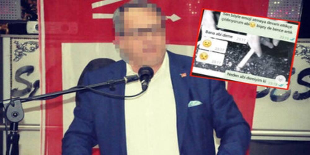 Çocuğu taciz eden CHP'li başkan istifa etti