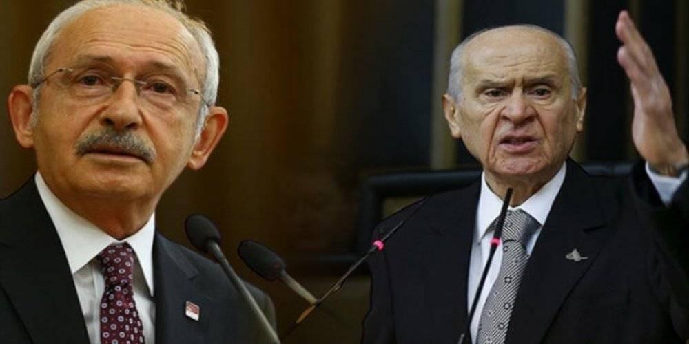 Bahçeli'den Kılıçdaroğlu açıklaması: Zillet ittifakının Cumhurbaşkanı adayı olduğu anlaşıldı