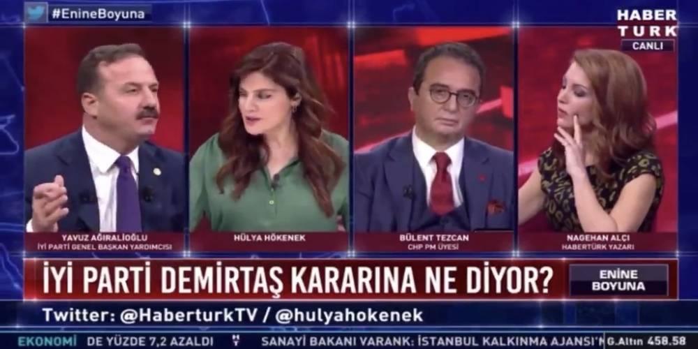 """İYİ Partili Yavuz Ağıralioğlu'nun ittifak ortağı HDP'nin eski Eş Başkanı Selahattin Demirtaş için çırpınışı: """"AİHM'nin kararına saygı duymalıyız"""""""