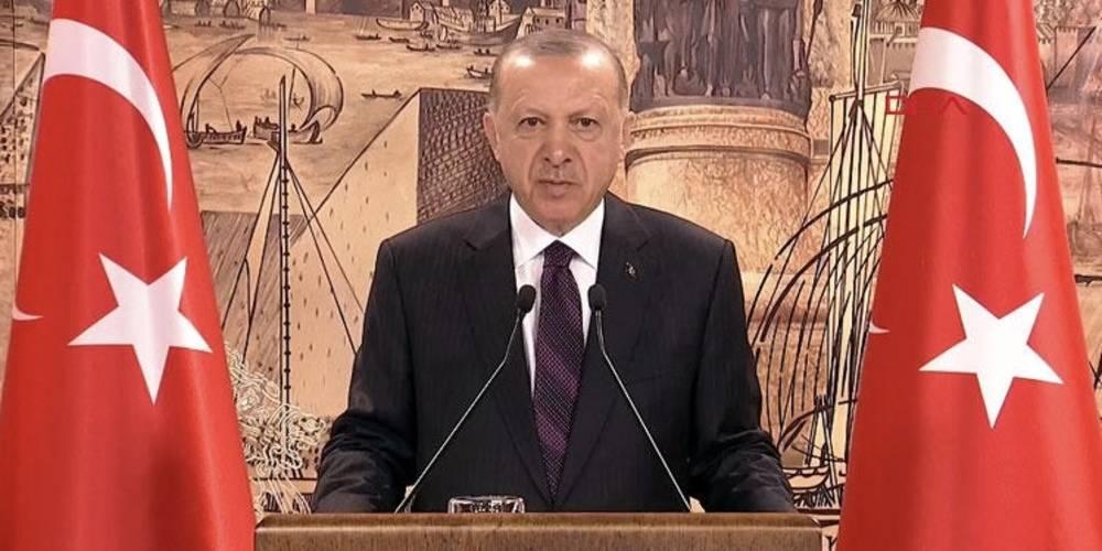 """Cumhurbaşkanı Erdoğan'dan CHP'ye: """"Teşkilatlarınızı ve belediyelerinizi PKK'dan FETÖ'ye kadar envai çeşit terör örgütü mensuplarıyla doldurmanın hesabını vereceksiniz."""""""