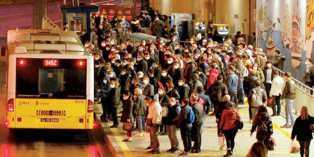 Camileri kafaya taktılar ama İstanbul'da korona İBB otobüslerinden yayılıyor