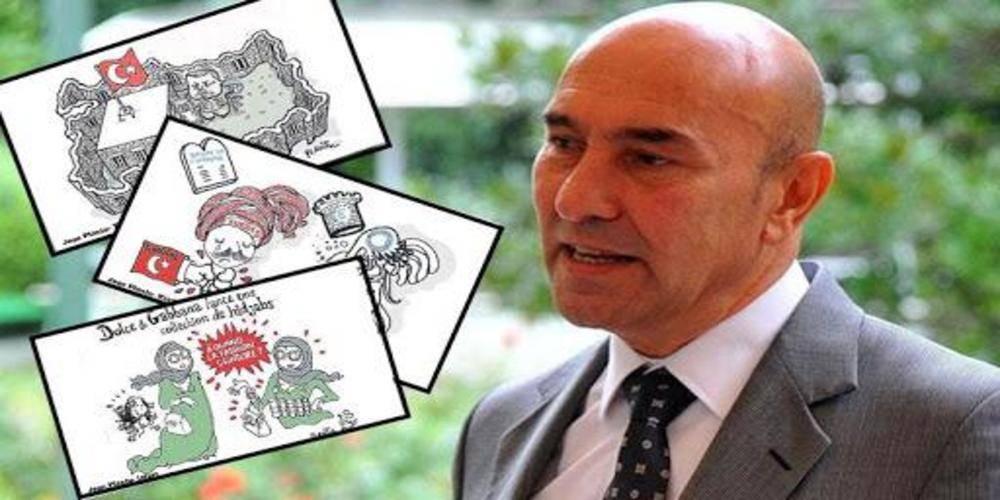 Tunç Soyer, başörtülü kadınları intihar bombacısı olarak çizen Fransız karikatüristi festivale davet etti!