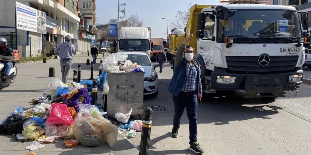 Maltepe'de CHP ile CHP arasında çöp kavgası