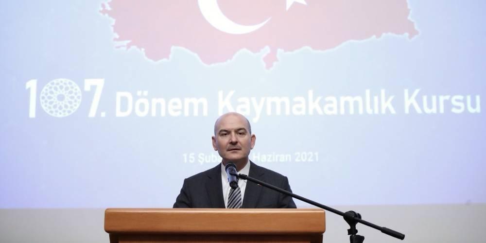 """İçişleri Bakanı Süleyman Soylu'dan Kılıçdaroğlu'na Gara tepkisi: Sorumluluğu Cumhurbaşkanımızın üzerine yıkmaya çalışmak PKK'yı aklamak, hep birlikte bir cephe olma fırsatını kaçırmaktır"""""""