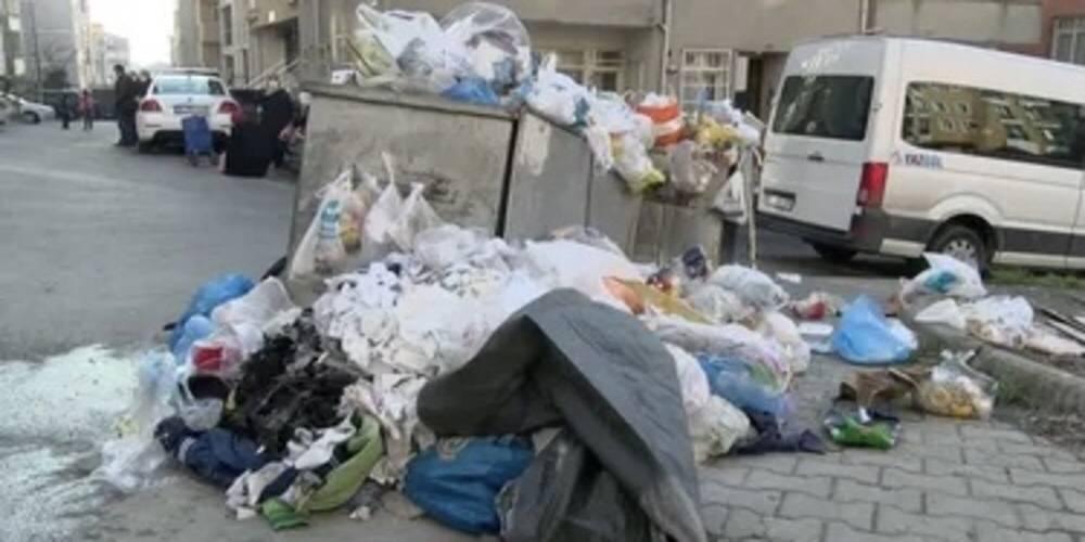Maltepe'de çöp dağları
