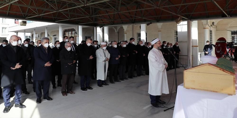 Hafız Abdullah Nazırlı son yolculuğuna uğurlandı! Cenazeye Cumhurbaşkanı Erdoğan da katıldı