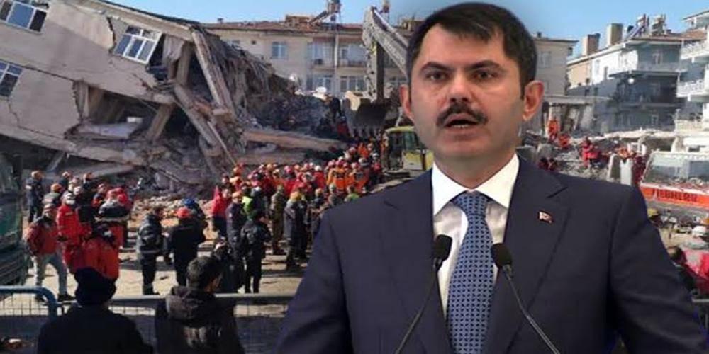 Çevre ve Şehircilik Bakanı Murat Kurum'dan Rıza Bey Apartmanı açıklaması