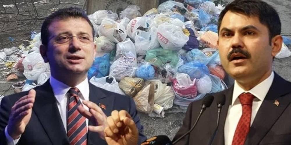 İBB'nin yardım etmeyi reddettiği çöp dağları krizine Çevre ve Şehircilik Bakanlığı el attı