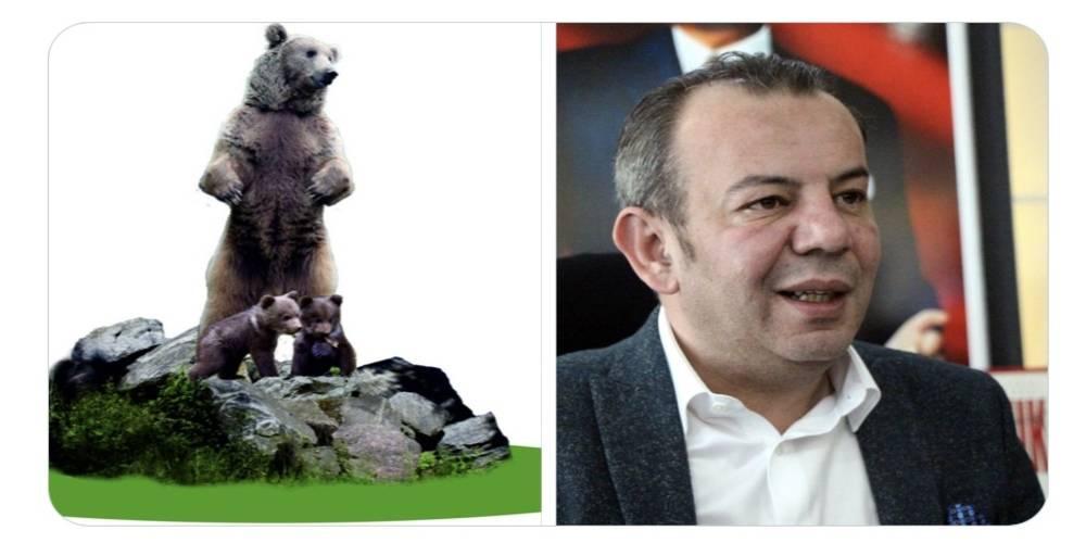 CHP'li Bolu Belediye Başkanı Tanju Özcan, kente 10 metrelik bozayı heykeli yapacakları müjdesini verdi!