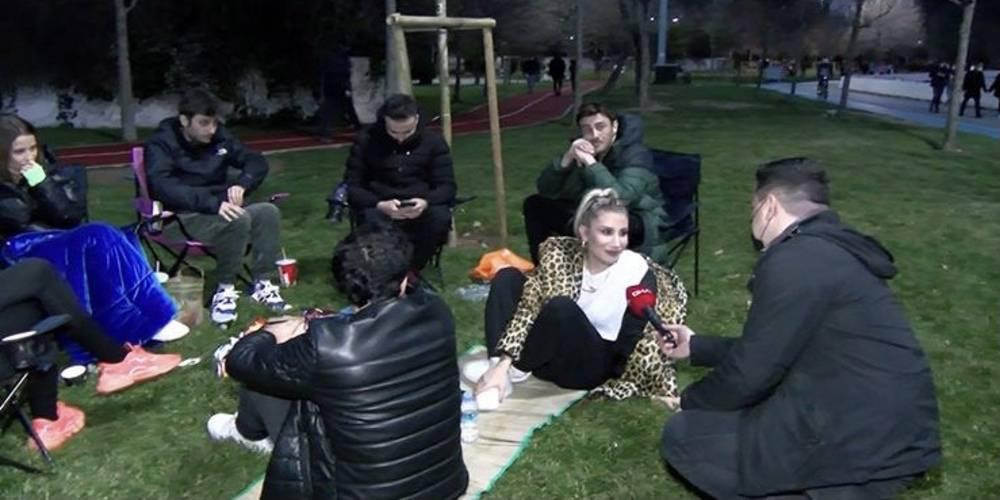 Sahilde maskesiz ve sosyal mesafesiz piknik yapan İrem Derici'ye 4.369 TL para cezası kesildi