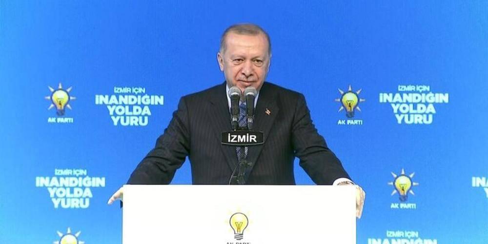 Cumhurbaşkanı Erdoğan: Ey Kılıçdaroğlu, Diyarbakır annelerinin semtine hiç uğradın mı, Diyarbakır'daki terör mağduru anneleri hiç ziyaret ettin mi?