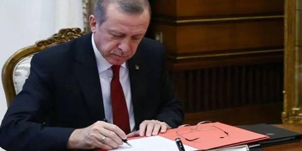 Cumhurbaşkanı Erdoğan 11 üniversiteye rektör atadı