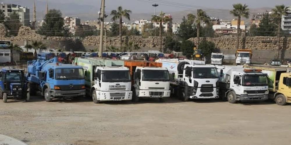 İstanbul Büyükşehir Belediyesi, Cizre ve İdil belediyelerine hibe ettiği 2 iş makinesini geri aldı