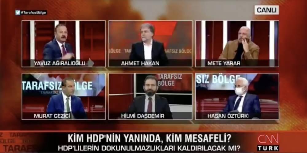 İYİ Parti Genel Başkan Yardımcısı Yavuz Ağıralioğlu: HDP'yi problemli görüyoruz, fezlekeler geldiğinde 'Evet' diyeceğiz