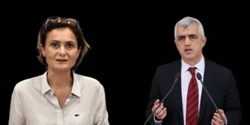 Terör propagandası yapmaktan hapis cezası alan HDP'li Ömer Faruk Gergerlioğlu'na CHP'li Canan Kaftancıoğlu'ndan destek